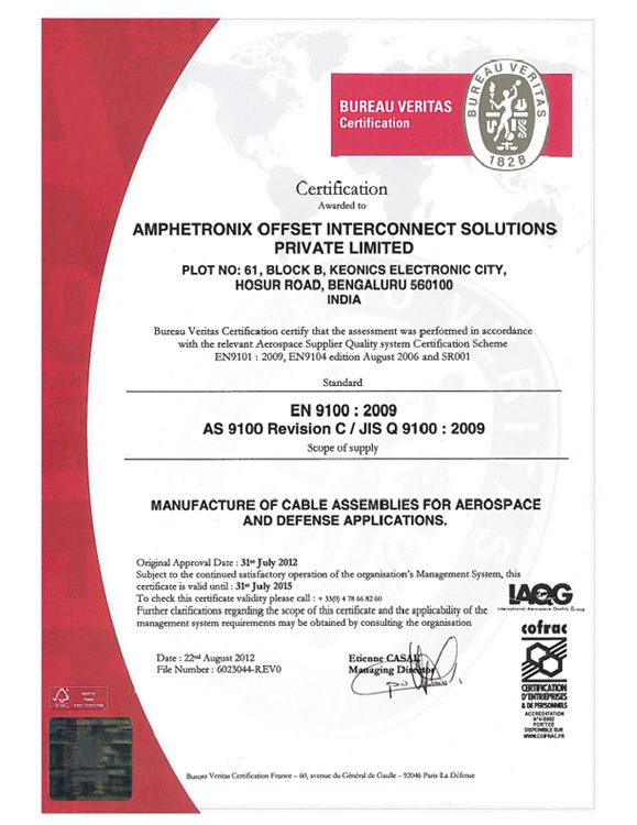 Amphetronix Offset Interconnect Solutions - Manufacturers of Cable ...